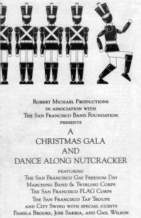 Program cover for 1985 Christmas Gala & Dance-Along Nutcracker