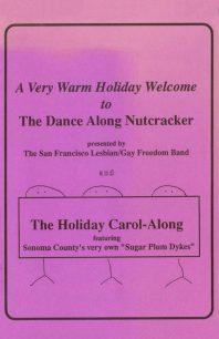 Program cover for the 1993 Dance-Along Nutcracker