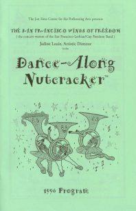 Program cover for the 1996 Dance-Along Nutcracker