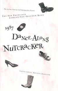Program cover for the 1997 Dance-Along Nutcracker