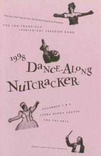 Program cover for the 1998 Dance-Along Nutcracker