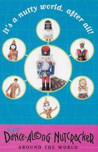 Program cover for the 2003 Dance-Along Nutcracker: The Fantastic Around the World