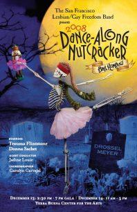 Program cover for the 2008 Dance-Along Nutcracker: Bah Humbug!