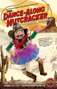 Program cover for the 2009 Dance-Along Nutcracker: Blazing Nutcrackers