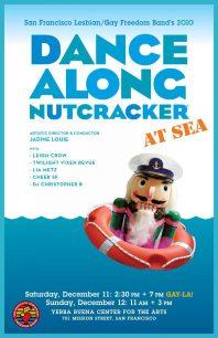 Program cover for the 2010 Dance-Along Nutcracker: At Sea