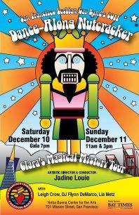 Program cover for 2011 Dance-Along Nutcracker: Clara's Magical Mystery Tour