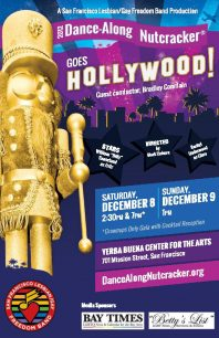 Program cover for 2012 Dance-Along Nutcracker: Goes Hollywood