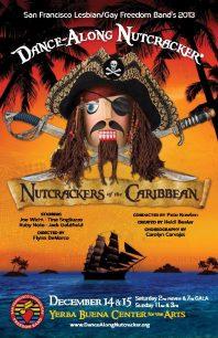 Program cover for 2013 Dance-Along Nutcracker: Nutcrackers of the Caribbean