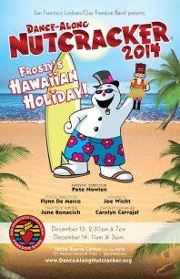 Program cover for 2014 Dance-Along Nutcracker: Frosty's Hawaiian Holiday