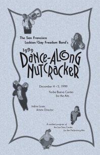 Program cover for the 1999 Dance-Along Nutcracker
