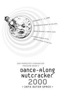 Program cover for the 2000 Dance-Along Nutcracker: Into Outer Space