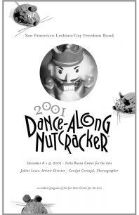 Program cover for the 2001 Dance-Along Nutcracker