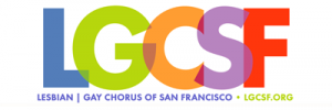 Lesbian/Gay Chorus of San Francisco logo